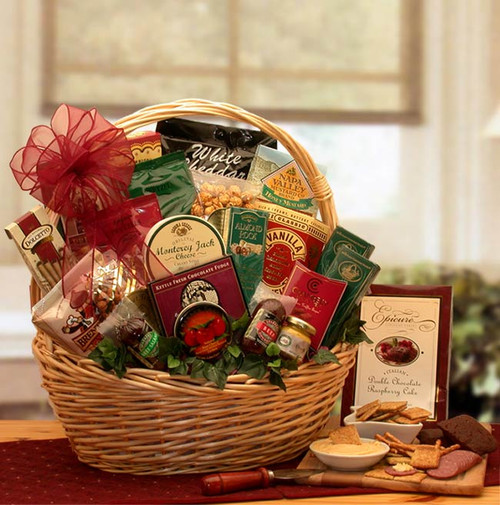 Snack Attack Gift Basket for Any Occasion - Medium