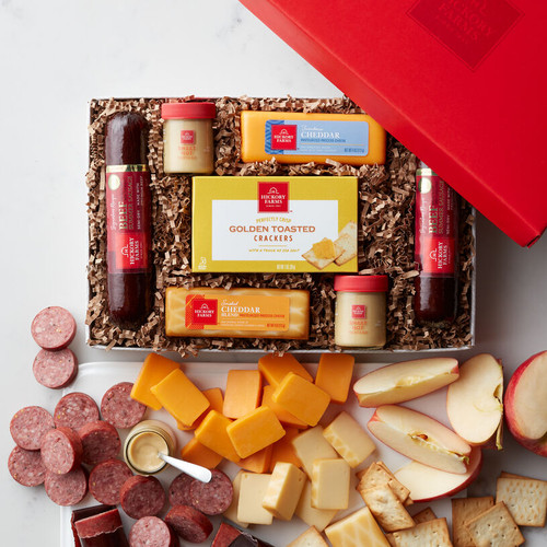 Beef and Cheese Favorites Gift Box by Hickory Farms