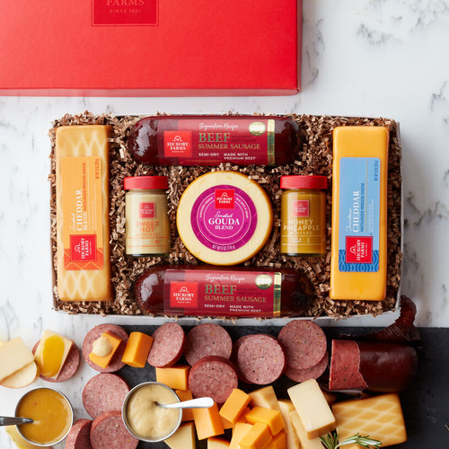 Hickory Farms Classic Selection Sausage and Cheese Gift Box