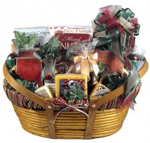 The Midwesterner, Cheese And Sausage Gift Basket (Extra Large)