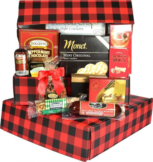 Dude Food, Snack Gift Box For Him