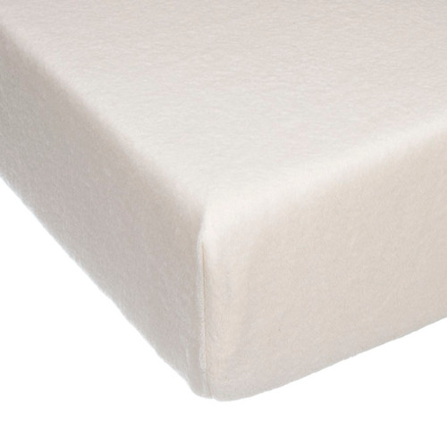 Angelica Collection Fitted Crib Sheet (Cream Softee)