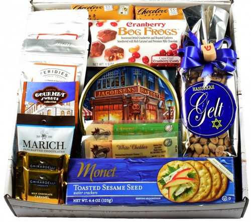 A Happy Hanukkah Care Package, Designer Gift Box