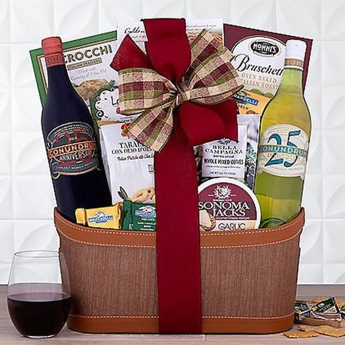 Caymus Conundrum Duet: Premium Wine Gift Basket