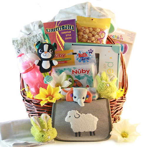 Oh Baby!: Baby Gift Basket - Choose Boy, Girl or Neutral