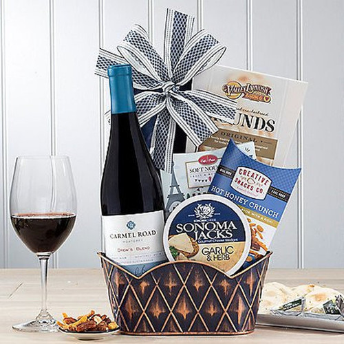 Carmel Road Pinot Noir: Wine Gift Basket for Any Occasion