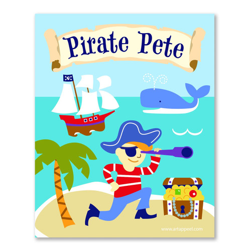 Pirates Personalized Kid's Bookplates - Set of 12