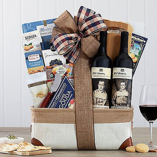 19 Crimes Australian Red Duet: Wine Gift Basket