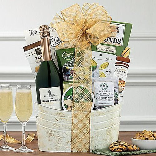 Bertrand Jefferson Brut: Champagne Gift Basket