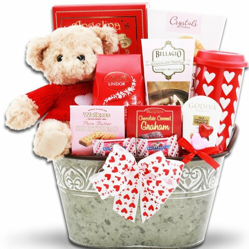 Just Too Cute: Valentine's Day Gift Basket