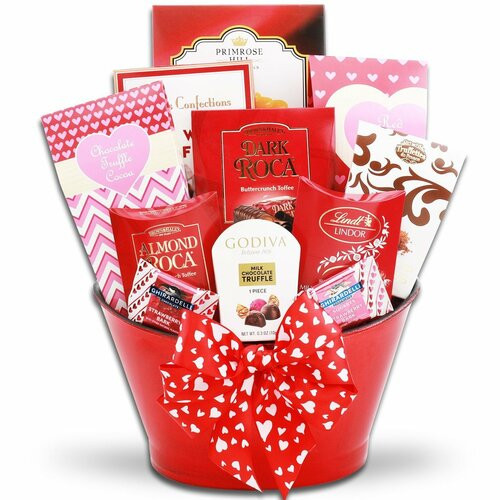 Sweets for My Sweet: Valentine's Day Gift Basket