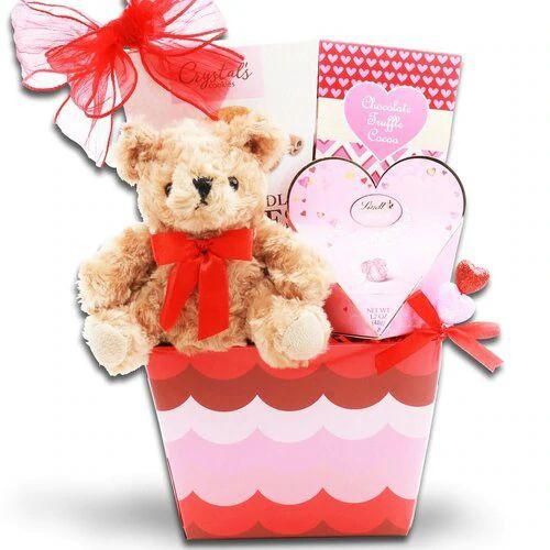 Groovy Love: Valentine's Day Gift Basket