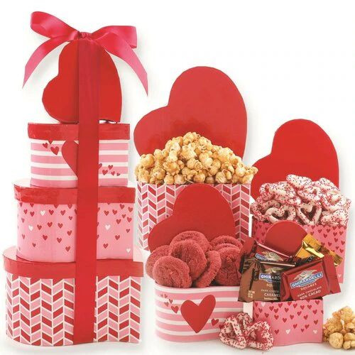 Tower of Love: Valentine's Day Gift Tower