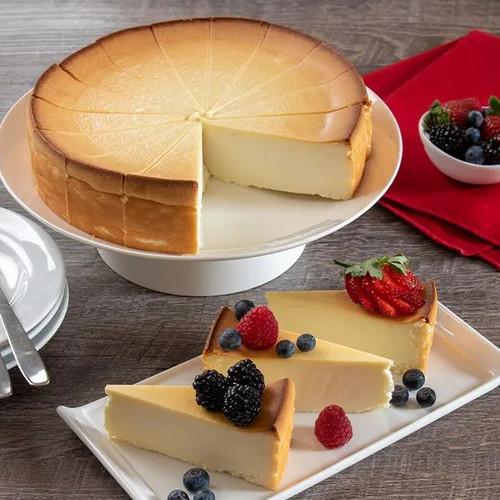"""Classic New York Cheesecake - 9"""" Inch Pie"""