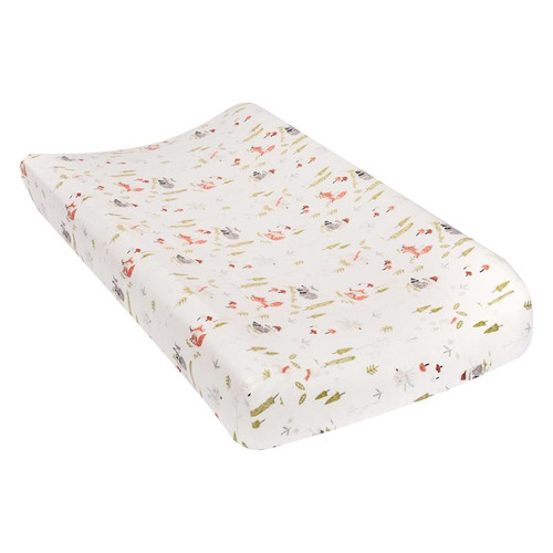 Winter Woods Flannel Changing Pad Cover