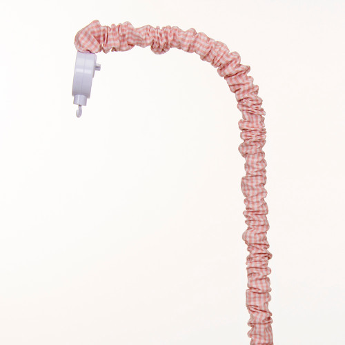 Cottage Rose Collection Mobile Arm Cover (Pink gingham)