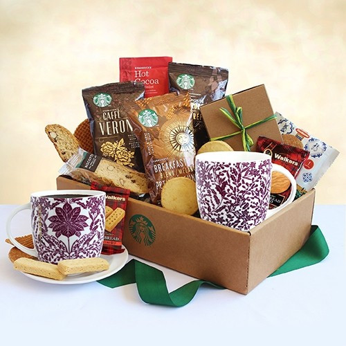 Classic Starbucks Coffee and Cocoa Gift Arrangement