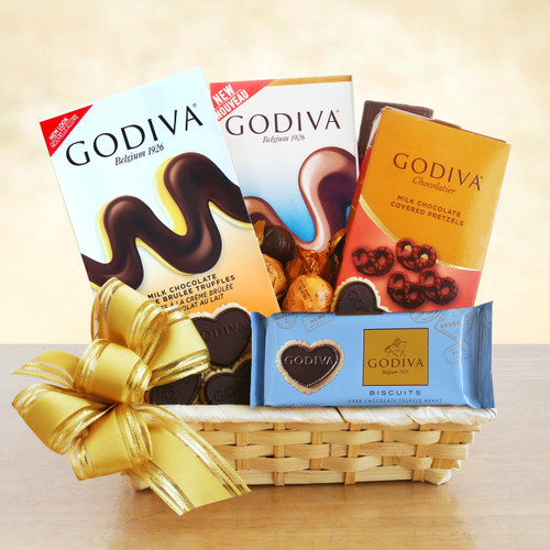 A Gift of Godiva! Gourmet Chocolate Gift Basket