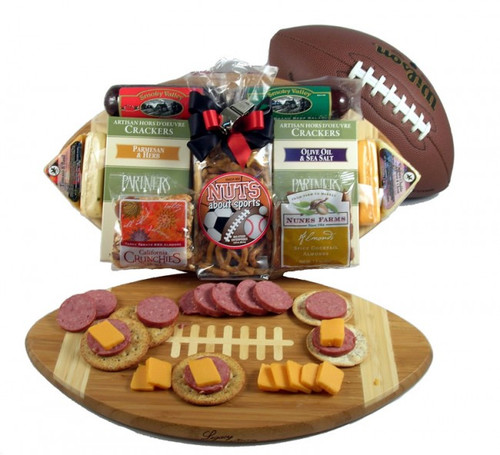 Halftime Favorites, Sports Themed Gift Arrangement