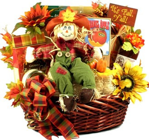 It's Fall, Y'all, Gourmet Autumn Gift Basket