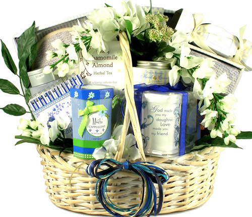 My Daughter, My Friend! Spa and Gourmet Gift Basket