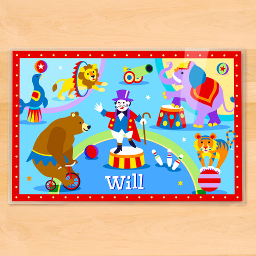 Big Top Personalized Kids Placemat