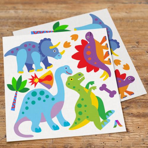Dinosaur Land Peel & Stick Kids Wall Decal Cutouts