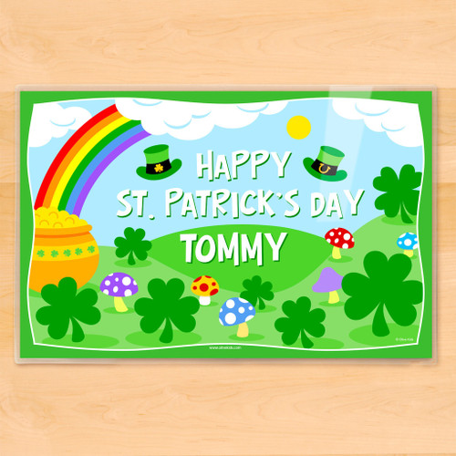 St. Patrick's Day Personalized Kids Placemat