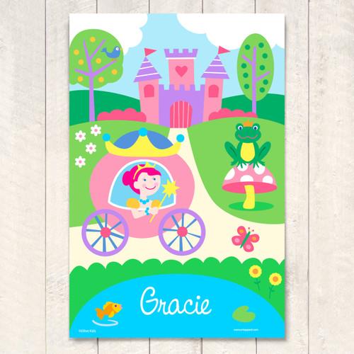 Princess Personalized Art Print