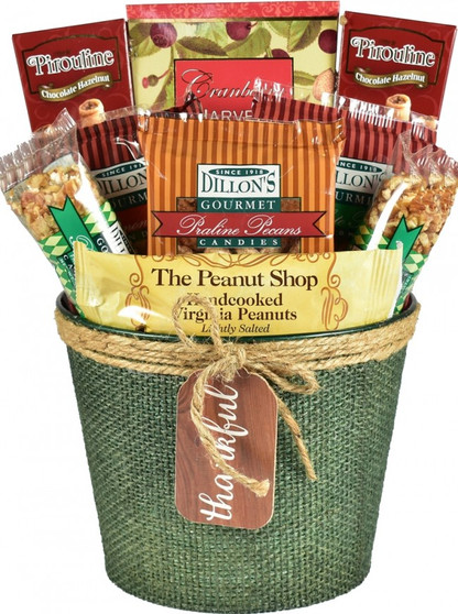 Nuts For Fall, Autumn Gift Basket