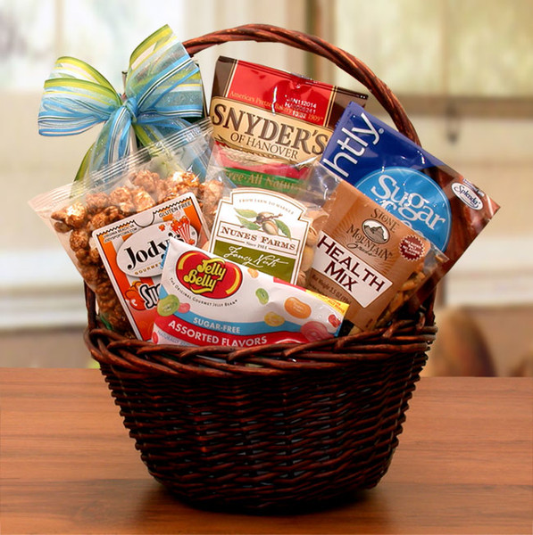 Mini Sugar Free Gift Basket for Any Occasion