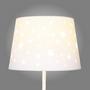 Star Cut Out Fabric Lamp Shade