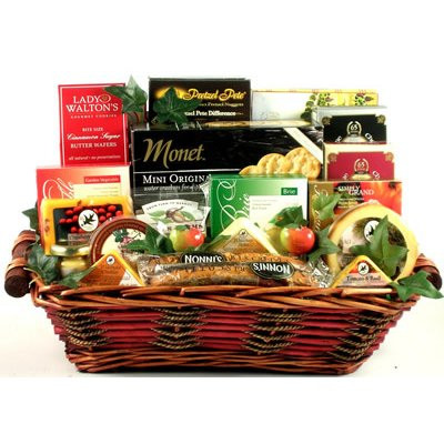 Say Cheese!, Gourmet Cheese Lover Gift Basket