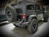 Jeep Wrangler (JK) Rear Bumper | Tire Carrier