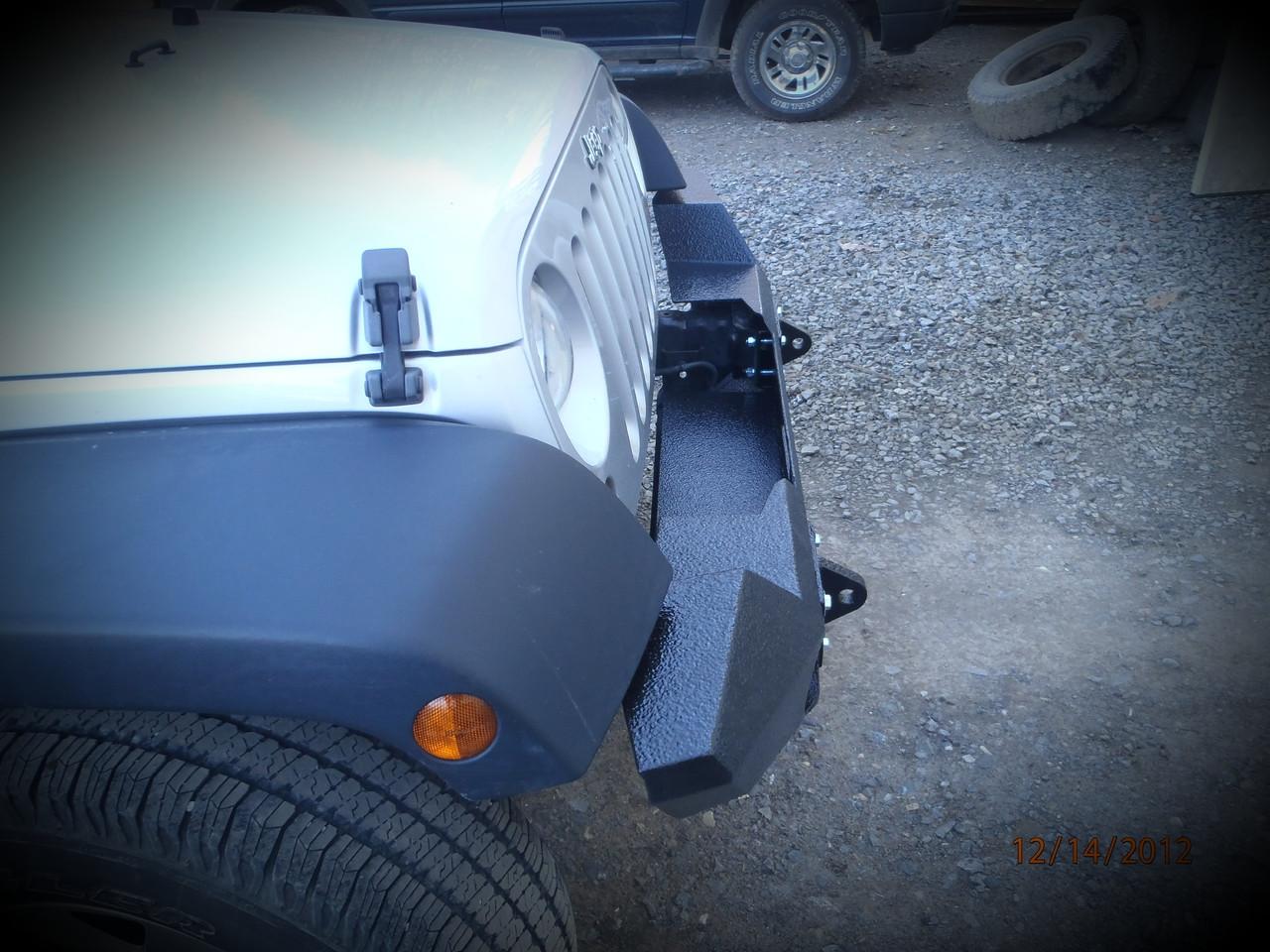 Jeep Wrangler (JK) Front Bumper