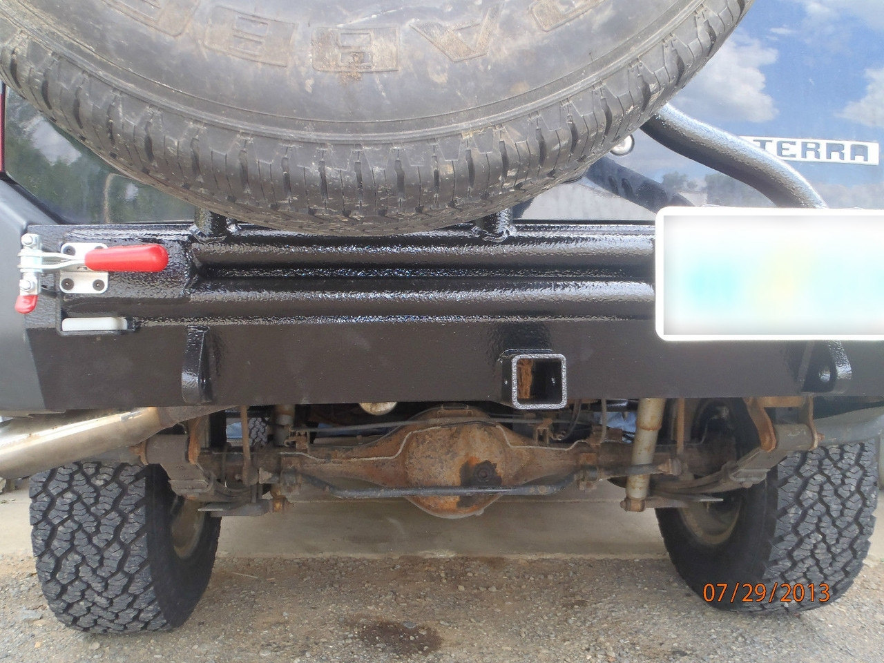 Nissan Xterra (1st Gen) Rear Bumper