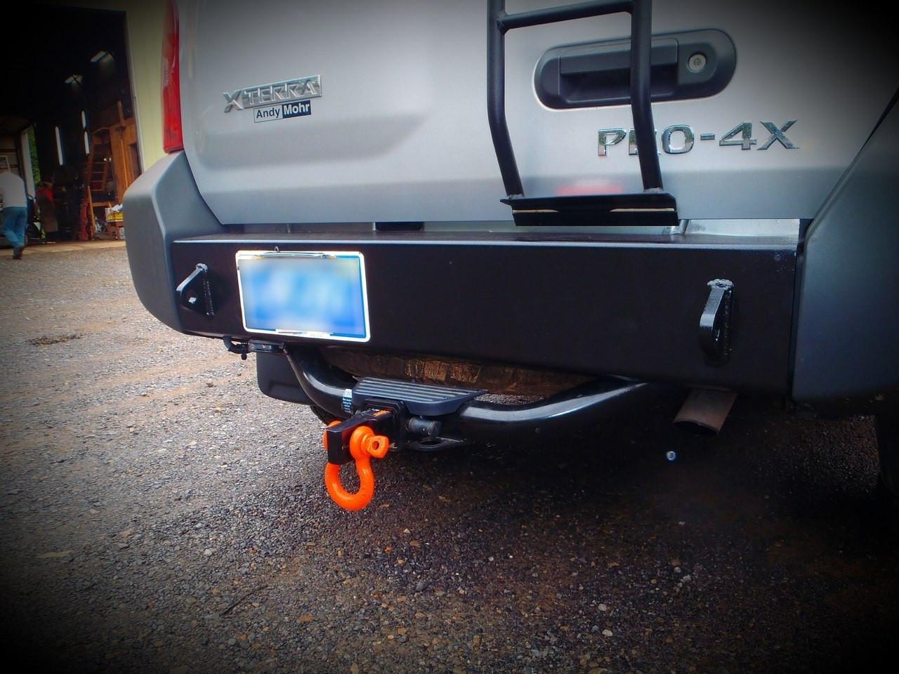 Nissan Xterra (2nd Gen) Rear Bumper DIY Weld Up Kit