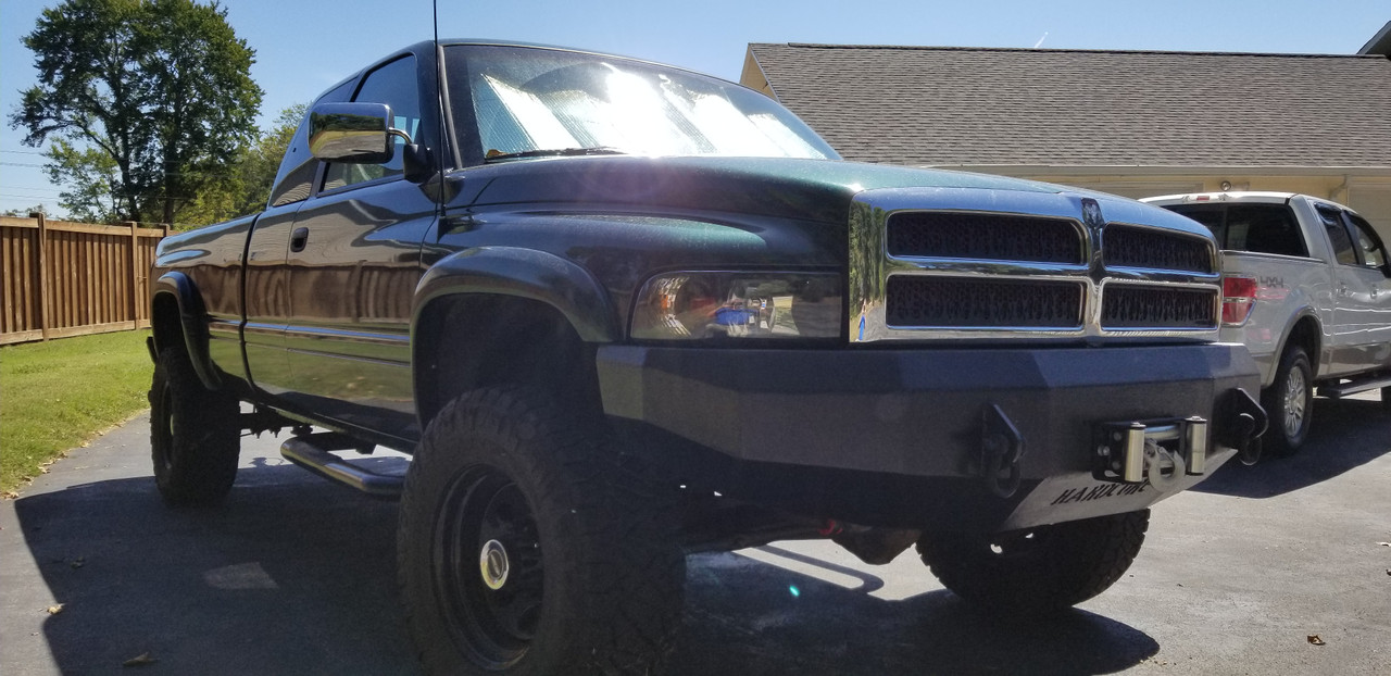Dodge Ram 2nd Gen Front Bumper Diy Weld Up Kit