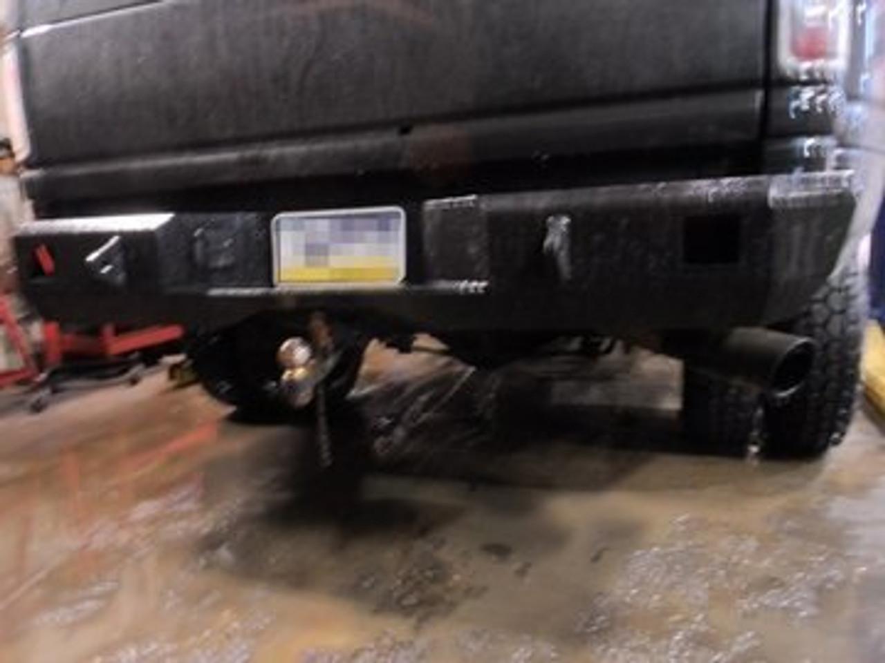 Dodge Ram 2nd Gen 2500 3500 Rear Bumper Diy Weld Up Kit