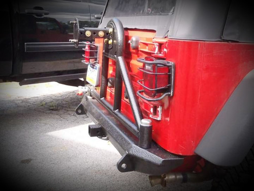 Jeep Wrangler (TJ/LJ) Rear Bumper | Tire Carrier