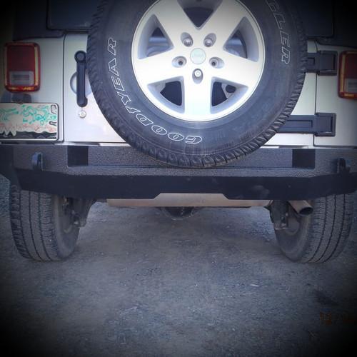 Jeep Wrangler (JK) Full Width Rear Bumper