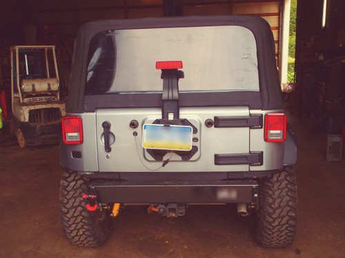 Jeep Wrangler (JK) Stubby Rear Bumper