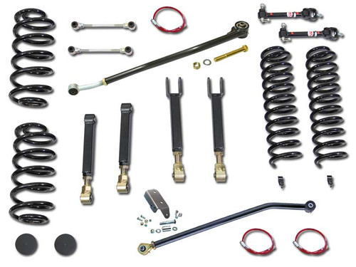 Jeep Wrangler Clayton 4.0 Inch Entry Level Short Arm Lift Kit 2004-2006 LJ