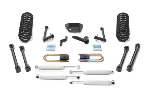 2009-13 RAM 2500/3500 4WD [DIESEL] Fabtech 6″ PERFORMANCE SYSTEM W/ PERFORMANCE SHOCKS