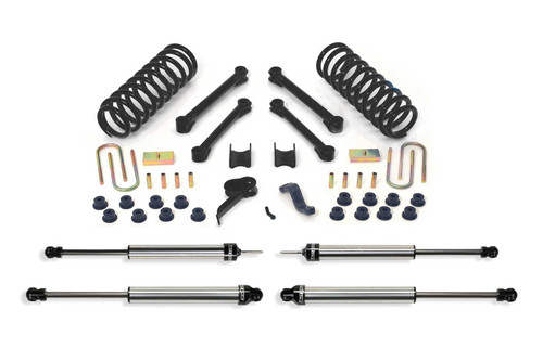 2009-13 RAM 2500/3500 4WD [DIESEL] Fabtech 4.5″ PERFORMANCE SYSTEM W/ DIRT LOGIC SHOCKS