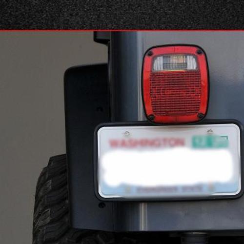 """MCE 4.5"""" Wide Rear Fender Flares-Black (87-06 Jeep Wrangler TJ/YJ)"""