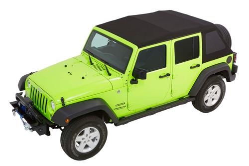 Trektop NX Glide Black Diamond (Jeep 07-17 Wrangler Unlimited 4-Door)