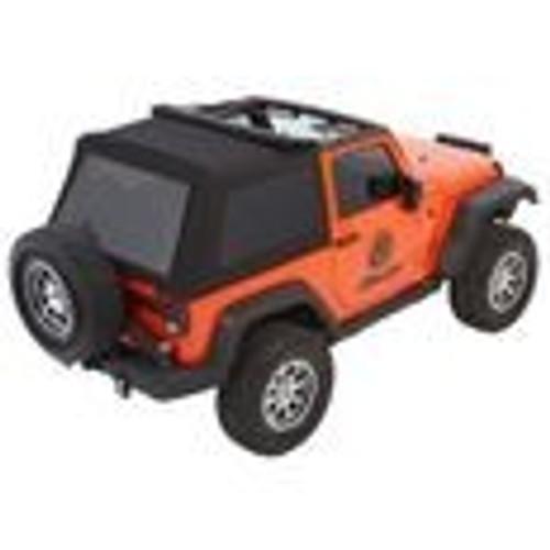 Trektop NX Glide Black Diamond Jeep 07-17 Wrangler 2-Door