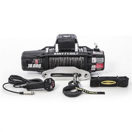 Smittybilt X2O 10 Comp - Gen2  10000 lb. Winch - Comp Series W/Synthetic Rope & Aluminum Fairlead