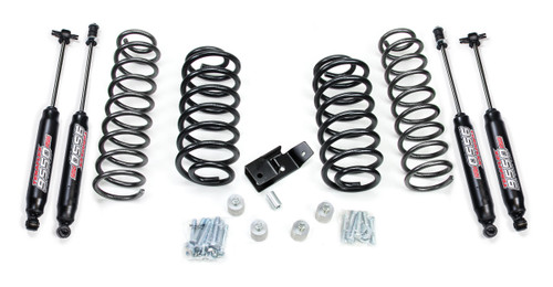 TJ  Wrangler (97-06) TeraFlex 2 Inch Lift Kit W/9550 Shocks